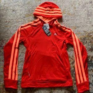 Orange ADIDAS sweater